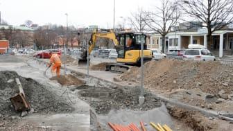 Utbyggnad av laddplatser i Göteborg