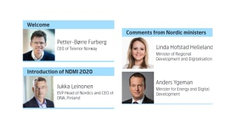 Pressinbjudan: Nordic Digital Municipality Index 2020 - med kommentar från Anders Ygeman