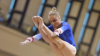 Jonna klar för årets tredje världscupsfinal i barr