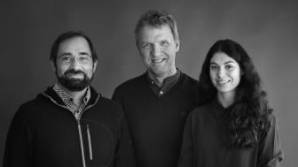 Sébastien Corbari, Mikael Uppling och Meryem Gülenay. Foto: Karin Björkquist.
