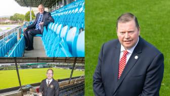 John Taggart (Ballymena Utd), Peter Clarke (Carrick Rangers) and Gareth Clements (Larne FC)