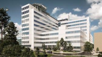 Danderyds sjukhus ny vårdbyggnad