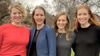 Teamet bakom Momentus, ett nytt Sting-bolag inom healthtech.