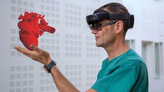 HOLOGRAMSATSING. Inven2 og Sopra Steria stifter HoloCare AS for å satse på helsehologrammer i «mixed reality». Lege Henrik Brun.