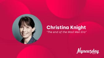 Keynote speaker på Mynewsday 2020: Christina Knight
