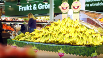Varje såld container bananer på City Gross ger pengar till en gomspaltoperation.