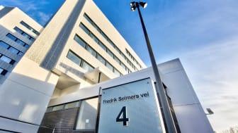 Fredrik Selmers vei 4 er ett av Entras  BREEAM In-Use-sertifiserte bygg. Antallet BREEAM In-Use-sertifikater er mer enn doblet siden ifjor.
