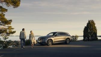 Enormt gensvar när Mercedes-Benz lånar ut elbilar för heldags-provkörning.