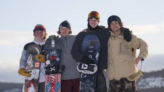 NM i snowboard i Trysil.