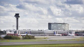 Rekordmånga resenärer på Arlanda
