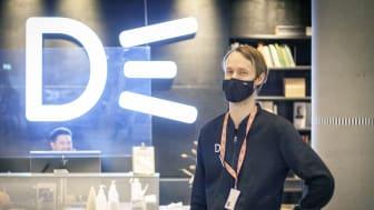 Deichman åpner alle bibliotekene onsdag - og med fullt fokus på godt smittevern. Foto: Eirik Kjellsen.