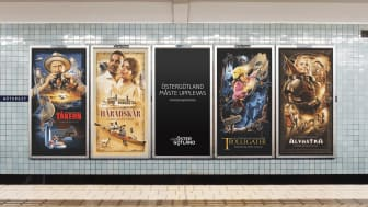 Illustrationerna i Stockholms tunnelbana våren 2021