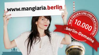 10.000ste .berlin-Domain registriert