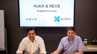 NEVS and AutoX to collaborate on large scale RoboTaxi deployment in Europe