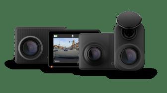 Med Dash Cam Mini 2, 47, 57 och 67W har förare ständig kontroll över sitt fordon med HD eyewitness video, Live View övervakning och online lagring i Vault