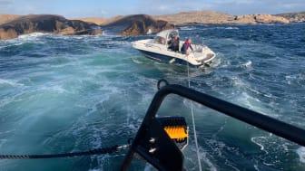 En av årets många insatser för Sjöräddningssällskapets frivilliga sjöräddare