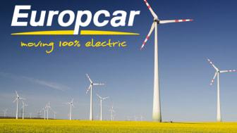 Europcar tar täten i omställningen mot laddbara bilar!