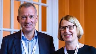 Prof. Dr. med. Christoph Keck und Dr. med. Bele Jakisch aus dem endokrinologikum Hamburg, Bild: Juliane Ahlers