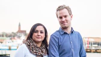 Jenny Sander, vd, och Fredrik Sandin, Consultant Manager, på Sigma IT Tech.