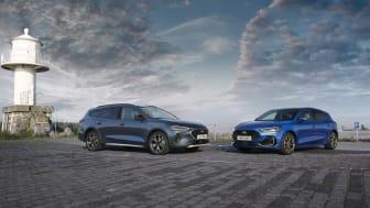 Ny Ford Focus står nu endnu stærkere med nyt design