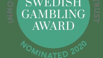 Elva bidrag har gått vidare till final i Swedish Gambling Award 2020