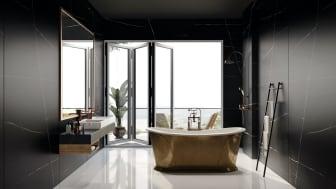 Silestone Eternal Noir -  Bathroom
