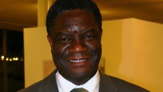 Denis Mukwege talare under Almedalsveckan
