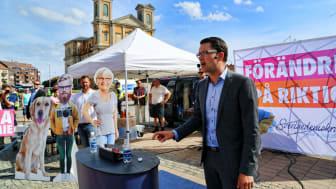 Jimmie Åkesson kräver besked från övriga partiledare i stor annonskampanj