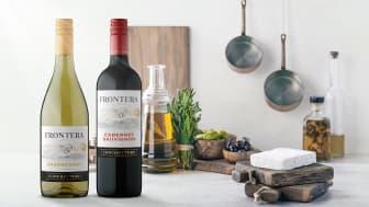 Ny design för Fronteras viner