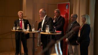 Venture Cup bjöd in till rafflande debatt om hur framtidens tillväxtföretag skall finansieras…