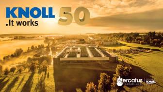 KNOLL Maschinenbau GmbH fyller 50 år.