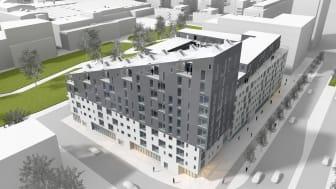 MKB investerar ytterligare cirka 460 miljoner i nya bostäder