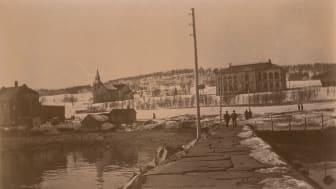 Bilde av dagens Tromsø Kunstforening, Muségata 2, daværende Tromsø Museum, omkring år 1900.