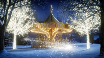 Let there be light! Premiere for Liseberg's divine Christmas market.