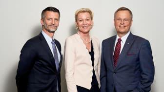 Urban Englund, Carina Olson och Erik Strand.