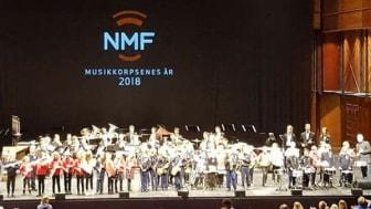 Bilde fra Trøndersk Mesterskap i musikkorpsenes år 2018