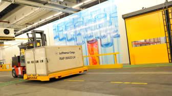Das Lufthansa Cargo Pharma Hub in Frankfurt bietet eine hochmoderne Infrastruktur für den Transport von temperatursensible Gütern