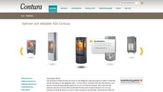 Contura lanserar ny webbsajt