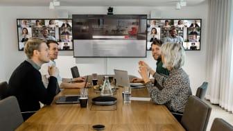 Hybrida möten med inkommande video.