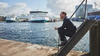 """""""Stigningen viser tydeligt vigtigheden af en velfungerende overfart og ikke mindst at industri og virksomheder i vores samfund kører på højtryk, pandemien til trods"""", siger Kristian Durhuus, CEO ved ForSea"""