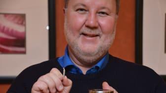 Bengt Wiberg som står bakom idén Sting free snus som är en av idéerna på Venture Cups Top 20 ideas list
