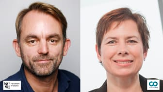 Andreas Thon of Kristiania University Collegeand Hope Mears Østgaard of CatalystOne launch new course HR-Tech and HCM