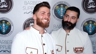 Västkustens bästa barberare - Omar Darwish och Homan Taghizadeh från Sharper Barbershop i Göteborg.
