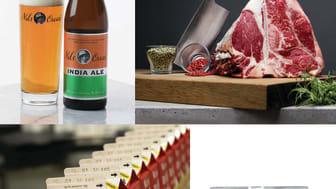 Fyra företag nominerade till Årets smakutvecklare
