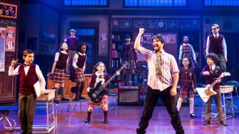 School of Rock - The Musical. Bild från Broadway.