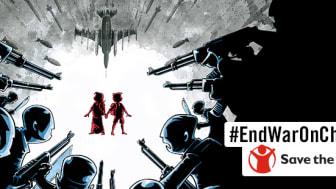 Kriget mot barnen: var sjätte drabbas av krig och väpnade konflikter