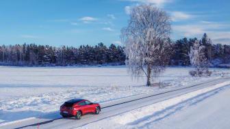 Nya Mustang Mach-E för första gången på svensk mark