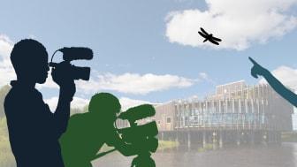 Premiär för naturfilmläger på naturum Vattenriket