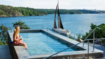 FLYT Stockholm beräknas glida in i Stockholms skärgård i mitten av maj och kan bokas från och med 1 juni.