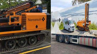 Norconsult Boreteknikk er navnet på det nye selskapet der Norconsults grunnboringsmiljøer samles. (Foto: Norconsult)
